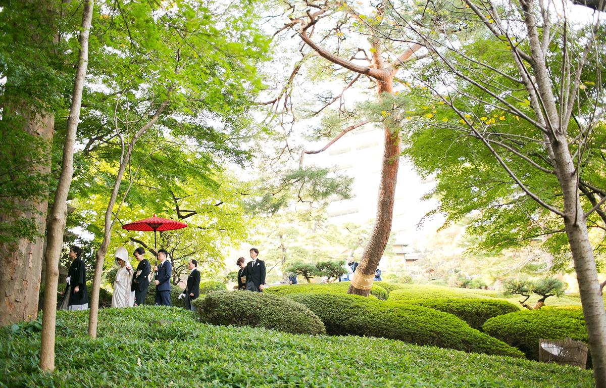 八芳園の花嫁御寮
