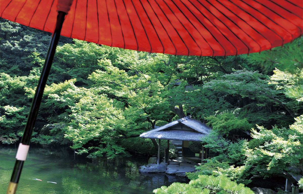 八芳園の日本庭園