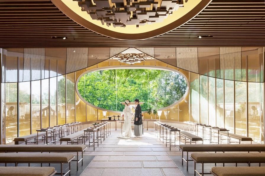 椿山荘のチ神殿